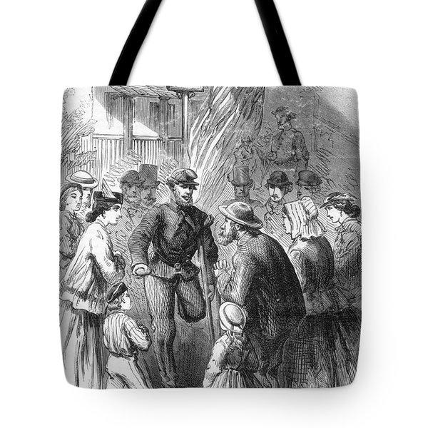 Civil War: Veteran, 1867 Tote Bag by Granger