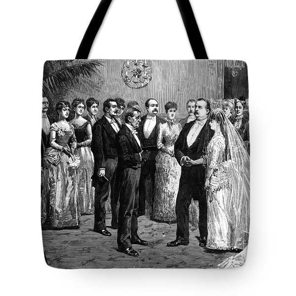 Cleveland Wedding, 1886 Tote Bag by Granger