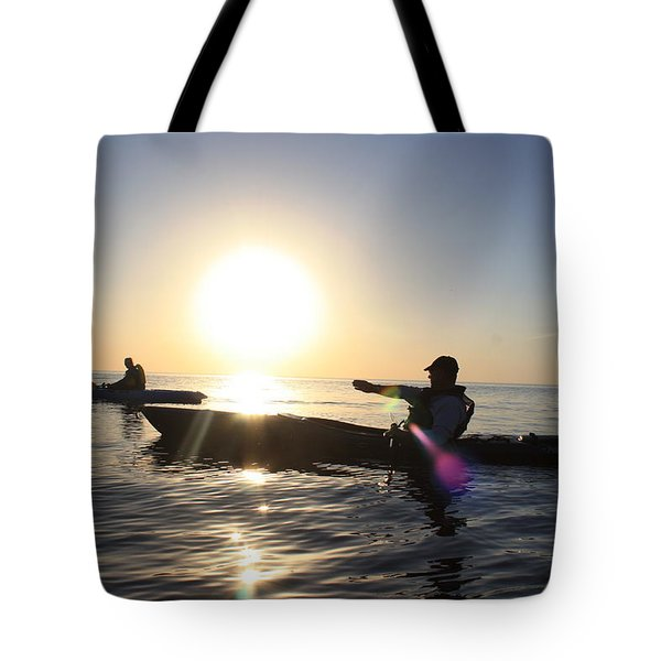 Coasting On Waters Light Tote Bag