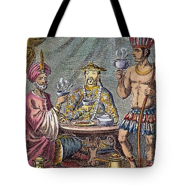 Coffee, Tea & Chocolate, 1685 Tote Bag by Granger