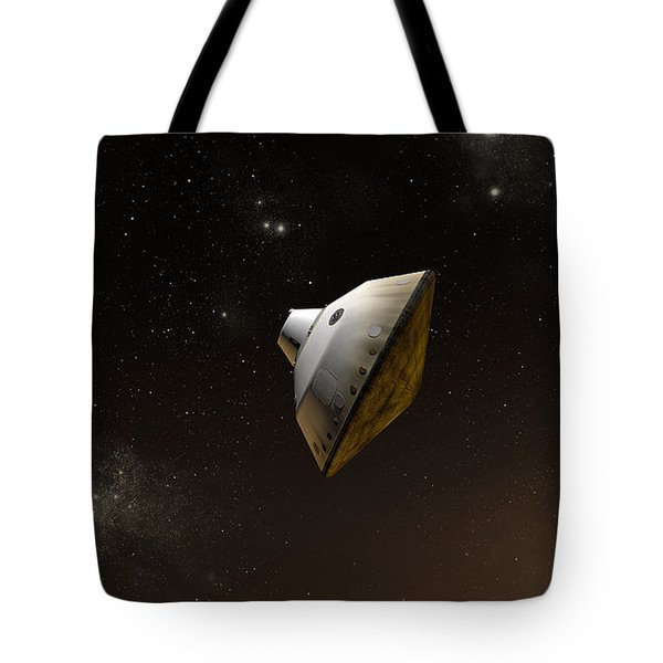 Concept Of Nasas Mars Science Tote Bag by Stocktrek Images