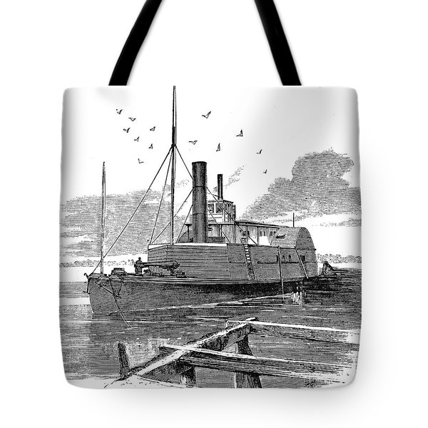 Confederate Ship, 1862 Tote Bag by Granger