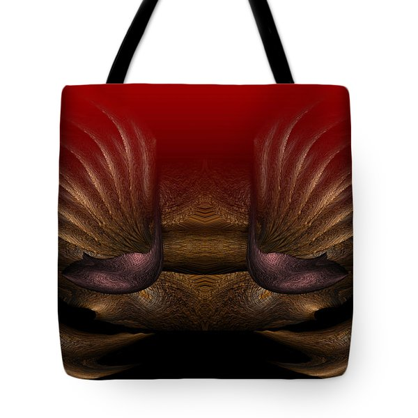 Crab Tote Bag by Christopher Gaston