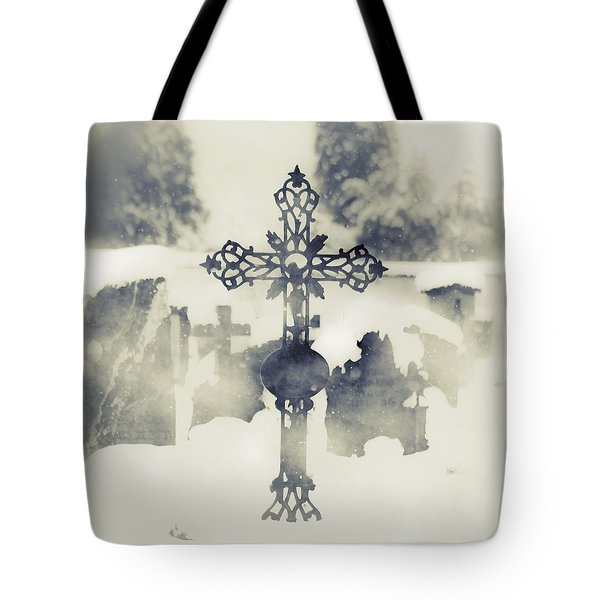 Cross Tote Bag by Joana Kruse