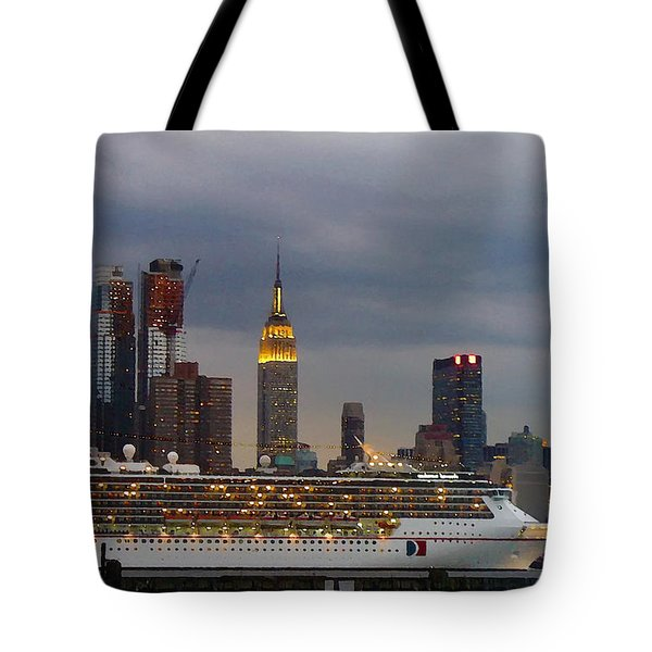 Cruisin By The City Tote Bag