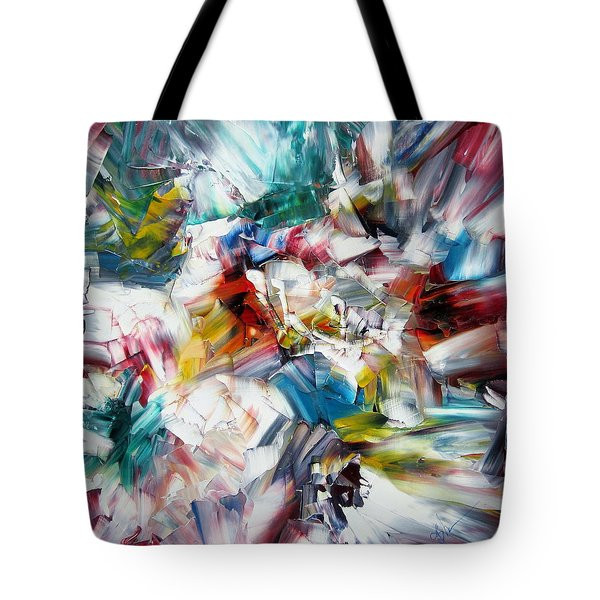Crystal Layers Tote Bag