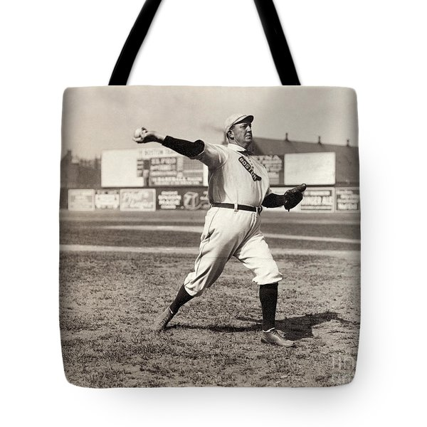 Cy Young (1867-1955) Tote Bag by Granger