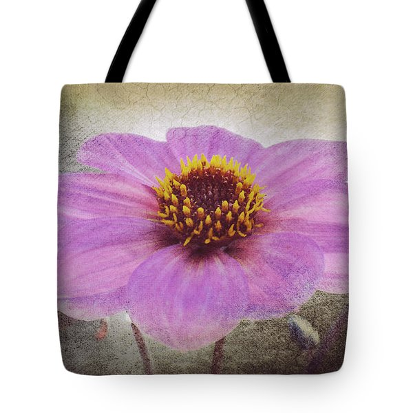 Dahlia Impression Tote Bag