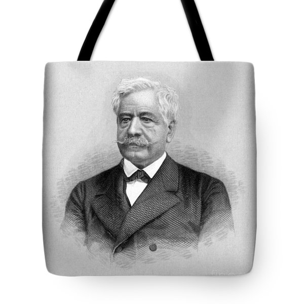De Lesseps, French Diplomat, Suez Canal Tote Bag by Science Source