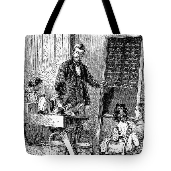 Deaf And Dumb School Tote Bag by Granger