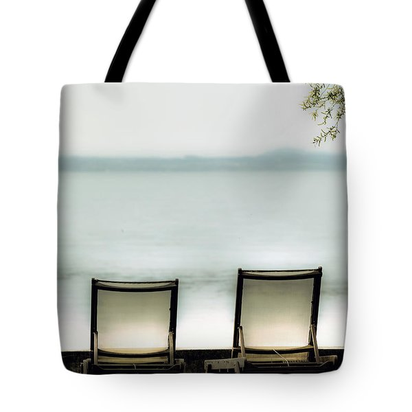 Deck Chairs Tote Bag by Joana Kruse