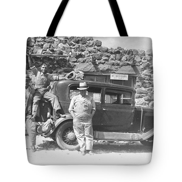 Depression Travlers Tote Bag