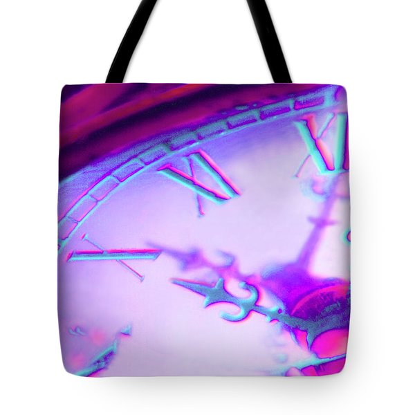 Distorted Time Tote Bag by Mike McGlothlen