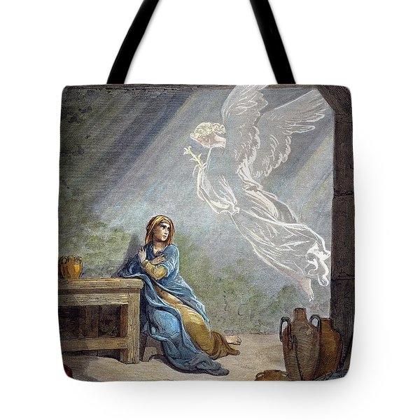 Dor�: The Annunciation Tote Bag by Granger