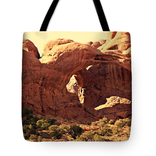 Double Arch Tote Bag by Marty Koch
