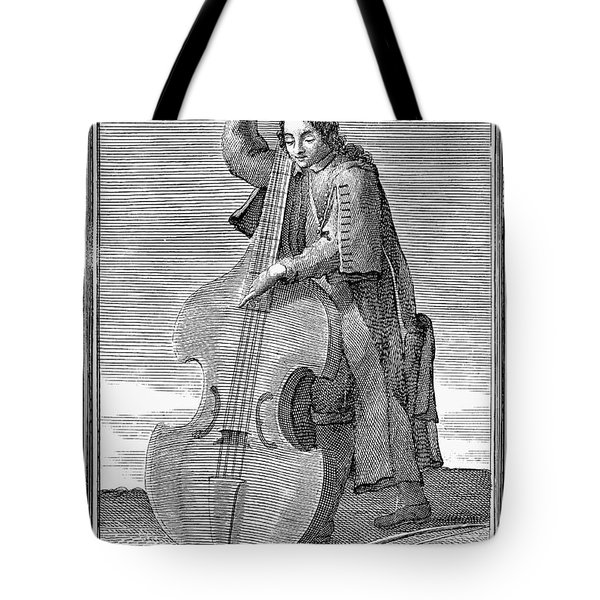Double-bass Viol, 1723 Tote Bag