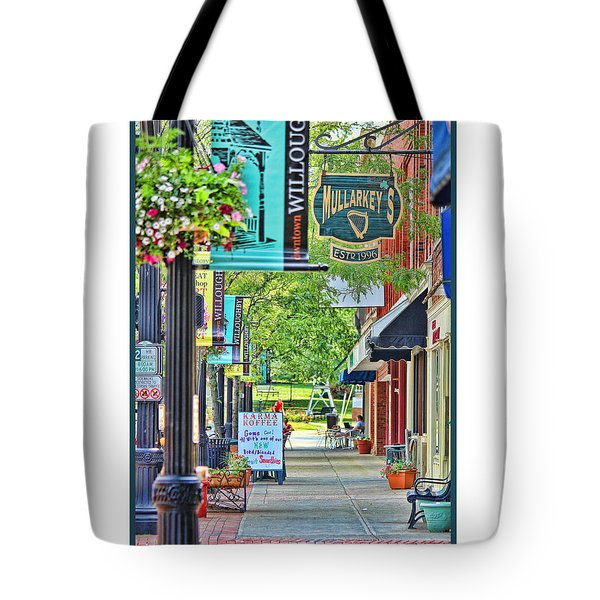 Downtown Willoughby Tote Bag