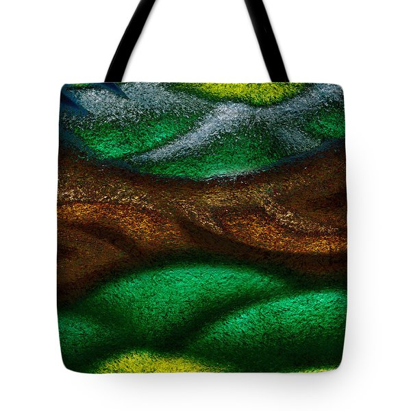 Dragon's Tale Tote Bag by Christopher Gaston