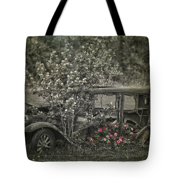 Driven To Find Love  Tote Bag by Jerry Cordeiro