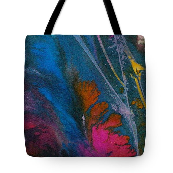 Tote Bag featuring the painting Earth Spirit by Mary Sullivan