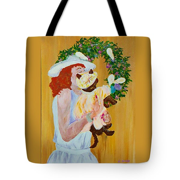 Easter Lilly Tote Bag by Gail Daley
