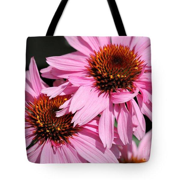 Echinacea Purpurea Or Purple Coneflower Tote Bag by J McCombie