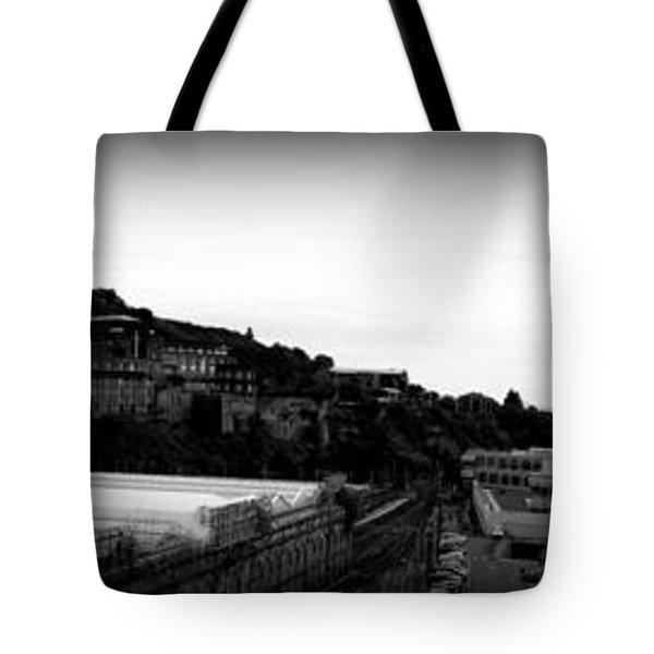 Edinburgh Station Panorama Tote Bag