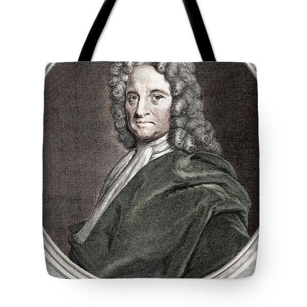 Edmond Halley, English Polymath Tote Bag by Science Source