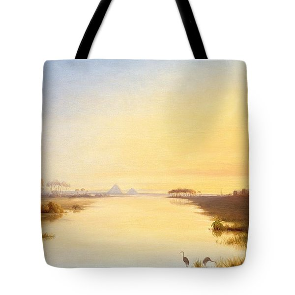 Egyptian Oasis Tote Bag by John Williams