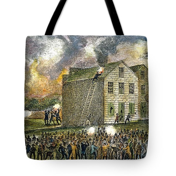 Elijah Parish Lovejoy Tote Bag by Granger