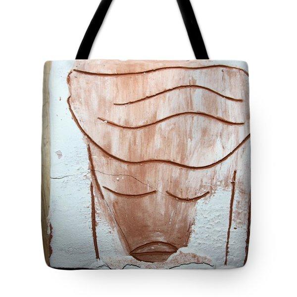 Ella - Tile Tote Bag by Gloria Ssali