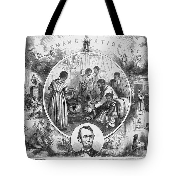 Emancipation Proclamation Tote Bag