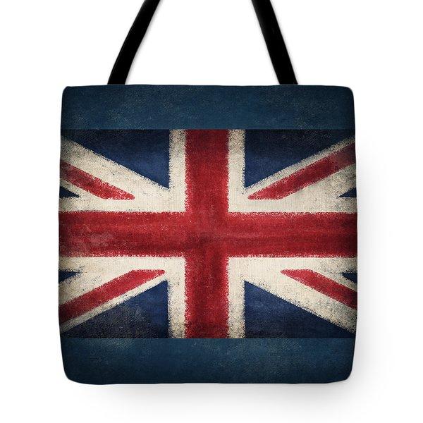 England Flag Tote Bag by Setsiri Silapasuwanchai
