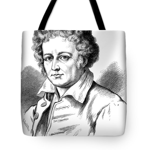Esaias Tegner (1782-1846) Tote Bag by Granger