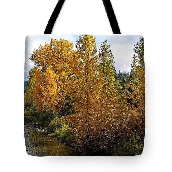 Tote Bag featuring the photograph Fall Colors by Steve McKinzie