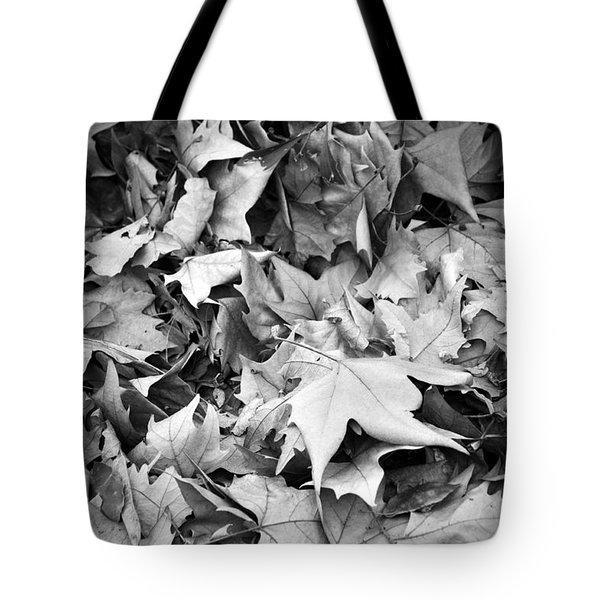 Fallen Leaves Tote Bag by Fabrizio Troiani
