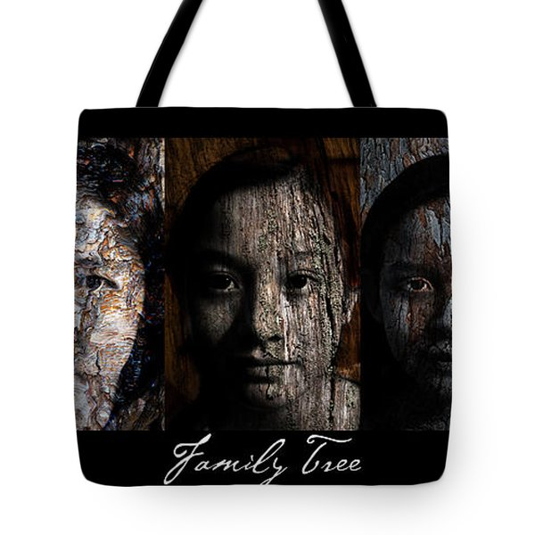 Family Tree Tote Bag by Christopher Gaston