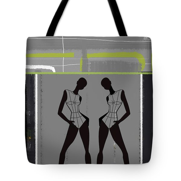 Fashion Dance Tote Bag