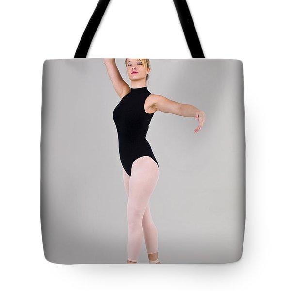 Female Dancer Tote Bag by Ilan Rosen