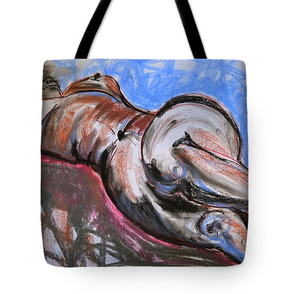 Female Nude  Tote Bag