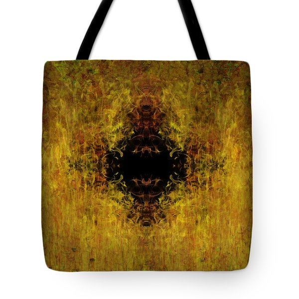 Fire Tote Bag by Christopher Gaston