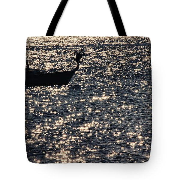 Fisherman Tote Bag by Stelios Kleanthous