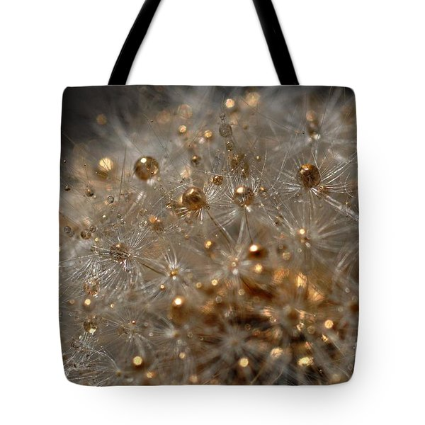 Tote Bag featuring the photograph Fleur D'or by Sylvie Leandre