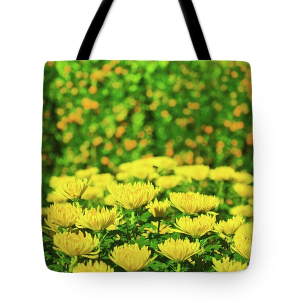 Flower Market Tote Bag by MotHaiBaPhoto Prints