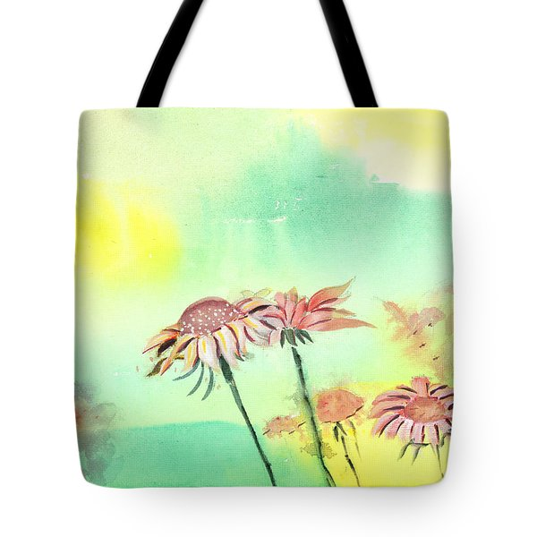 Flowers 2 Tote Bag by Anil Nene
