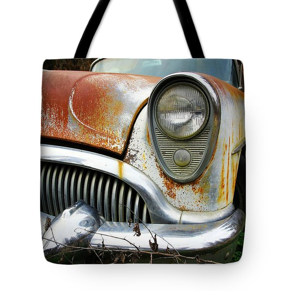Forgotten Buick Tote Bag by Steve McKinzie