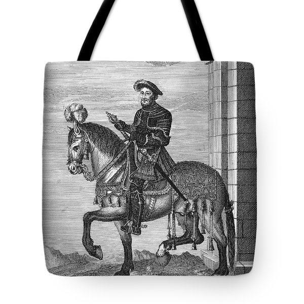 Francis I (1494-1547) Tote Bag by Granger