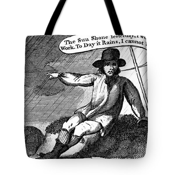 Franklin: Way To Wealth Tote Bag by Granger