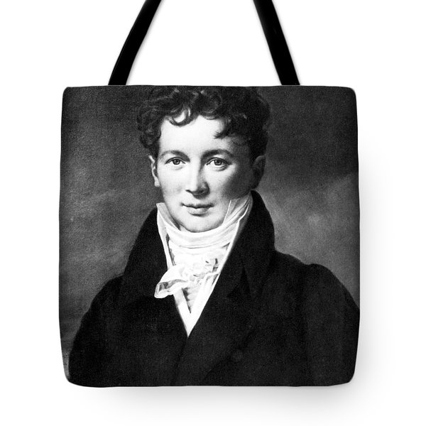 Fran�ois Magendie, French Physiologist Tote Bag