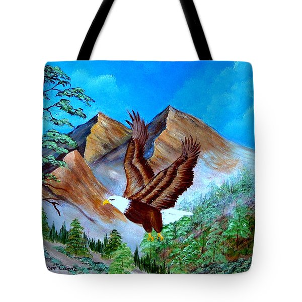 Freedom Flight Tote Bag